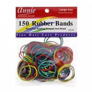 Annie 150 Asst Rubber Bands
