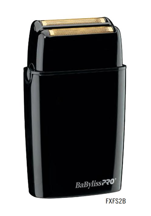 BaByliss PRO FOILFX02 Black Cordless Metal Double Foil Shaver FXFS2R
