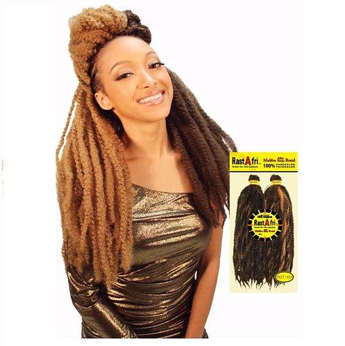 "Rastafri Malibu Afro Kinky 19"""