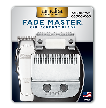 Andis Professional Fade Master Replacement Blade Set 01591
