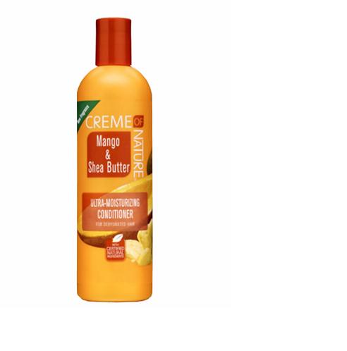 Creme Of Nature Mango & Shea Butter Ultra-Moisturizing Conditioner 12 oz