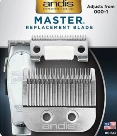 Andis Professional Improved Master Replacement Blade Set 01556