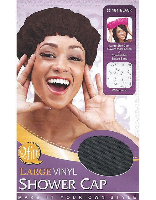 Qfitt Vinyl Shower Cap (Large)
