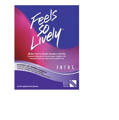 Zotos Feels So Lively Alkaline Perm for Normal, Resistant or Fine Hair (Ultra Fi