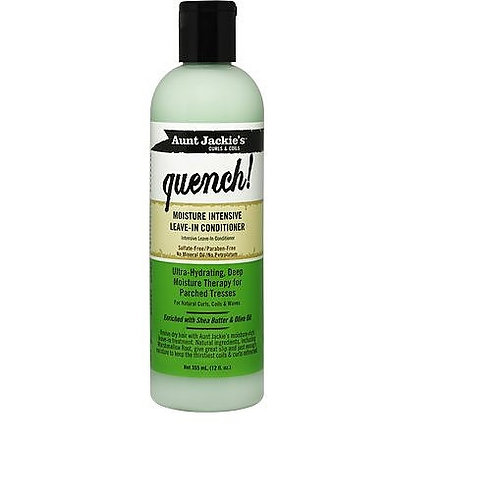 Aunt Jackie's Curls & Coils Quench! Moisture Intensive Leave-In Conditioner, 12