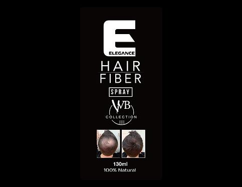 Elegance Black Hair Fiber Spray | Hair Building Fiber Spray
