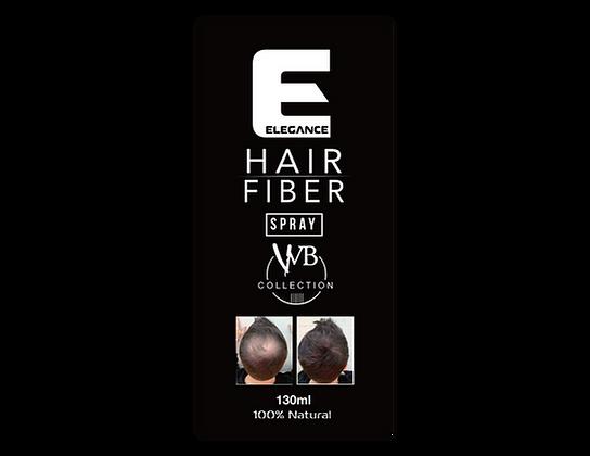 Elegance Black Hair Fiber Spray   Hair Building Fiber Spray