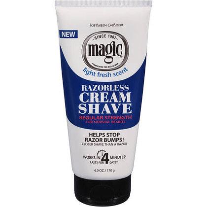 Magic Razorless Cream Shave 6oz.