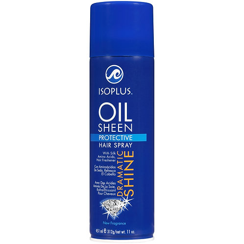 Isoplus Oil Sheen Hair Spray 11oz.