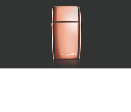 BaByliss PRO Cordless Metal Double Foil Shaver - ROSE GOLD