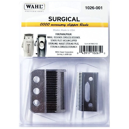 Wahl Surgical Blade 0000 Accessory Clipper Blade  #1026-001