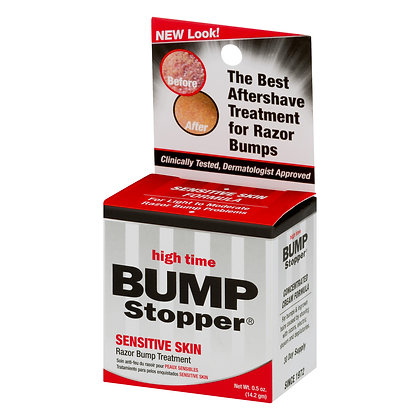 High Time Bump Stopper  Sensitive Skin Razor Bump Treatment 0.5 oz