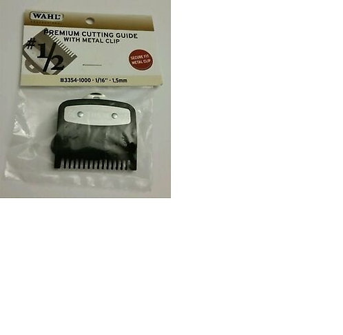 "Wahl Premium Cutting Guide with Metal Clip #1/2 (1/16""- 1.5mm)"