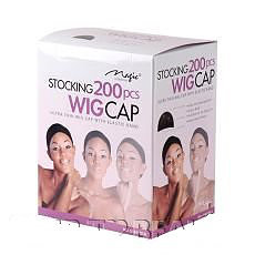 Magic Collection Stocking Wig Cap - Black