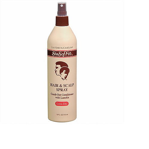 Sta-Sof-Fro Hair & Scalp Spray Comb out Extra Dry 16 fl oz.
