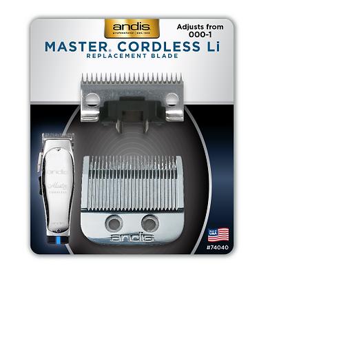 Andis Blade Master Cordless LI Adjust From 000-1 #74040