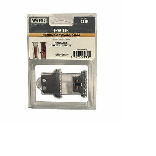 Wahl Adjustable T-Wide Trimmer Blade (2215)