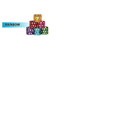 RastAfri Jumbo Jewels Diamond Hair - Rainbow