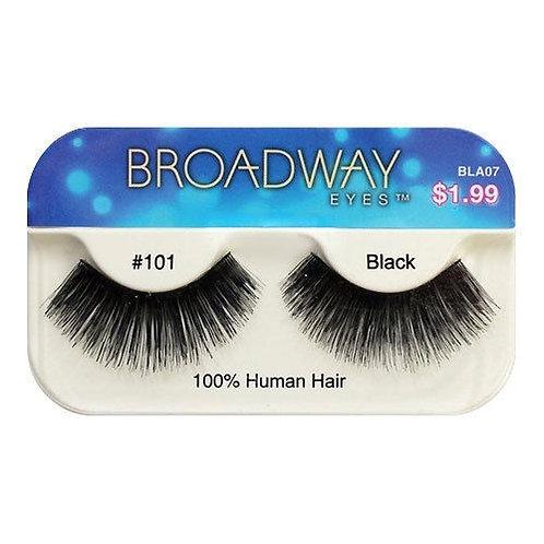 Broadway Human Hair Eyelashes #101