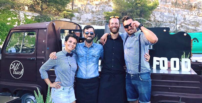 L'équipe Chill Truck Marseille
