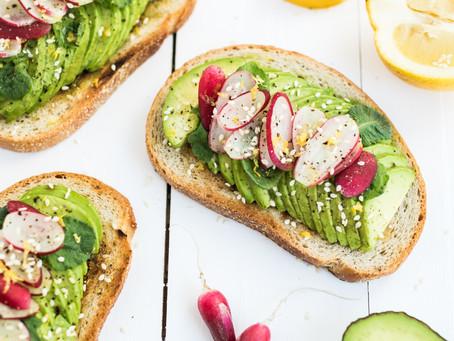 Radish Avocado Toast