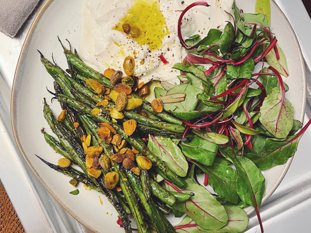 Butter and Lemon Beans with Tender Beetroot 🌱