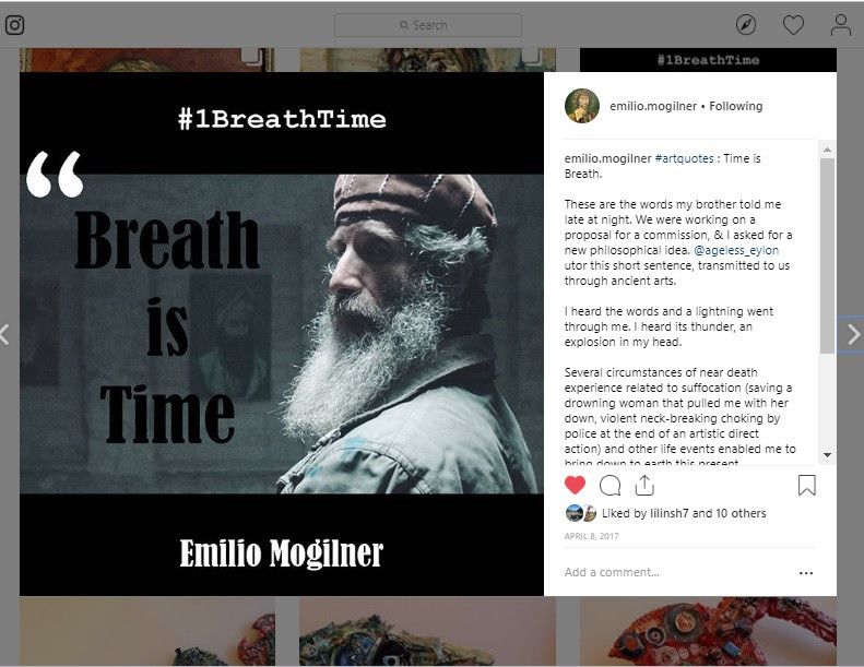 1 Breath Time Art, the Epiphany