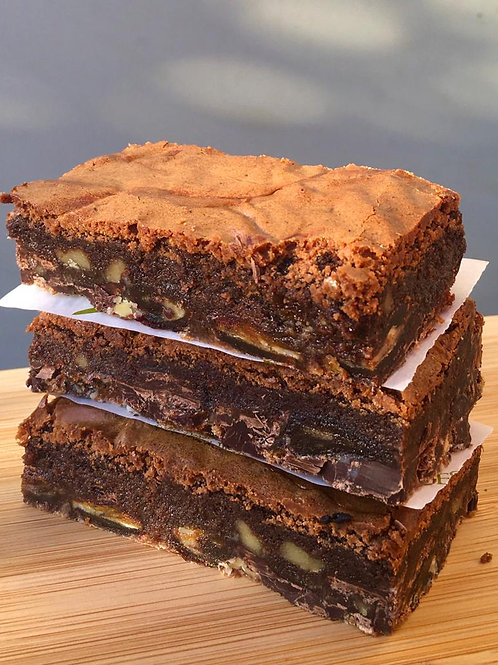 Chocolate Espresso Brownies GF - 6 Slices