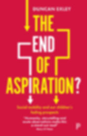 The End of Aspiration cover, by Duncan Exley