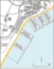 Lowestoft beach map