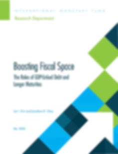Boosting Fiscal Space, front cover