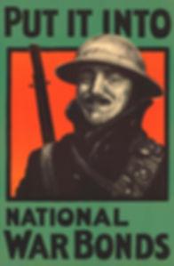 War Bonds poster
