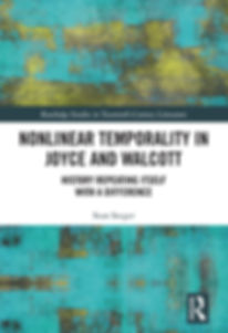 Book Cover Nonlinear Temporality In Joyce and Walcott by Sean Seeger