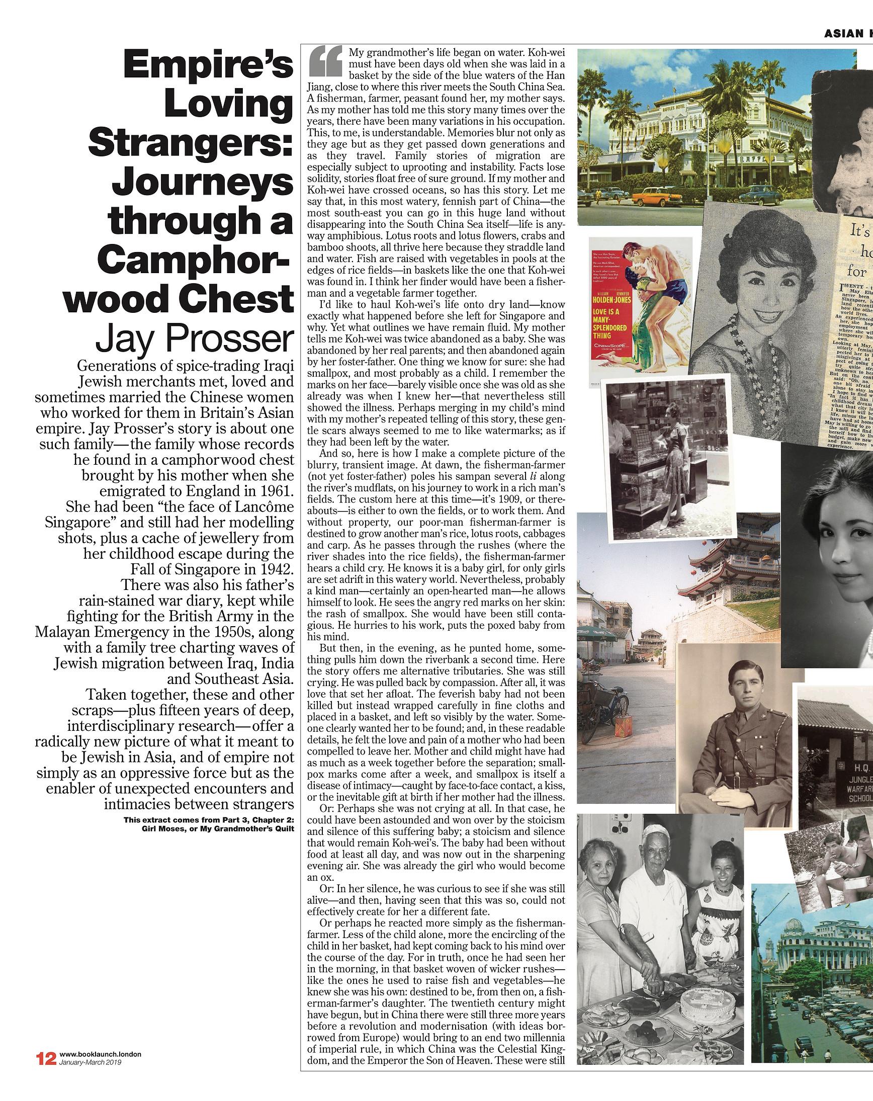 Empire's Loving Strangers, by Jay Prosser