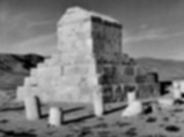 Image of Cyrus' tomb