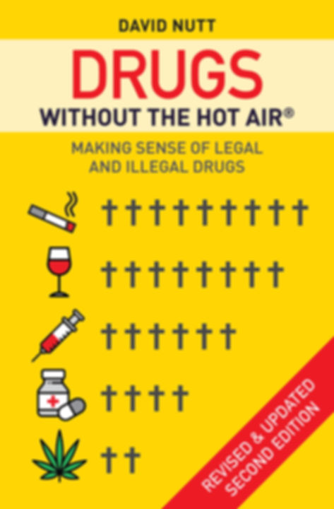 Book cover, Drugs Without The Hot Air, by David Nutt