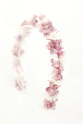 Diadema Petit rosa palo