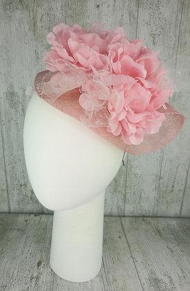 Base doblada rosa claro