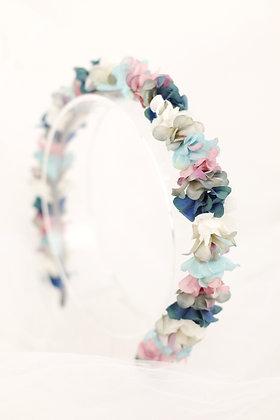 Diadema Petit azules y rosa