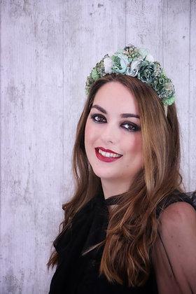Diadema Reina verde claro