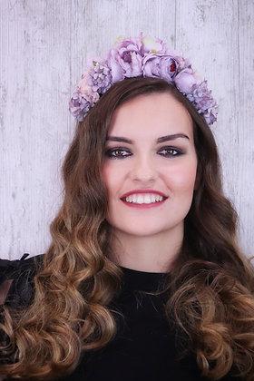 Diadema Reina lilas
