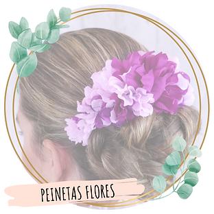 Peinetas de flores