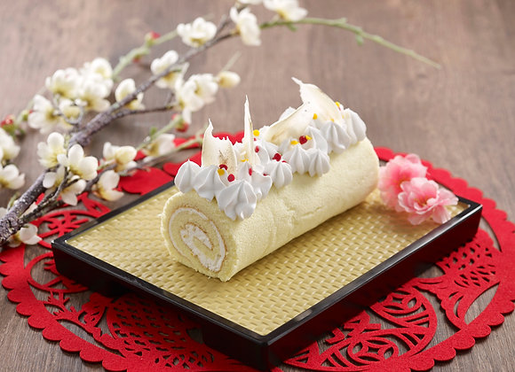 Citrus Yuzu Swiss Roll (18cm)