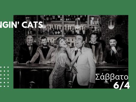 The Swingin' Cats Sat. 6/4 at Gazarte