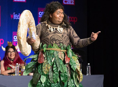 Maui wins 2nd Place at C2E2 Crown Championships of Cosplay