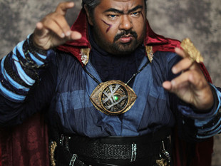 """Canvas Cosplay's """"Doctor Strange"""" featured on Fuse.tv '25 Coolest Cosplays at New"""