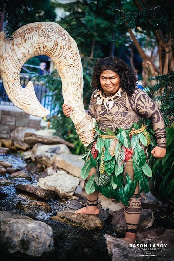 Feature: A Phenomenal Maui Cosplay From Disney's 'Moana'