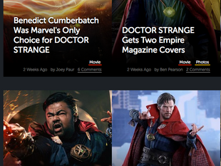 """Canvas Cosplay's """"Doctor Strange"""" Featured on Geek Tyrant"""