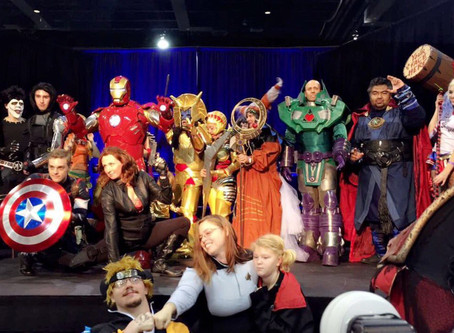 Canvas Cosplay wins Best Male Hero at Wizard World Richmond 2016 Cosplay Contest