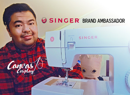 Canvas Cosplay Partners with SINGER® as Cosplay Brand Ambassador